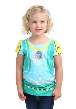 Camiseta de traje de Shimmer and Shine Girls Shine para niña