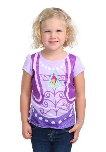 Shimmer and Shine camiseta de disfraz Shimmer para niñas peq