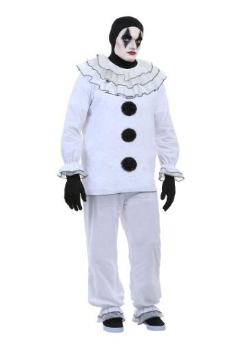 Disfraz de payaso Pierrot vintage para hombre