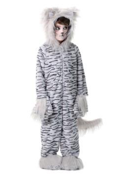 Disfraz de Deluxe Grey Cat para niños