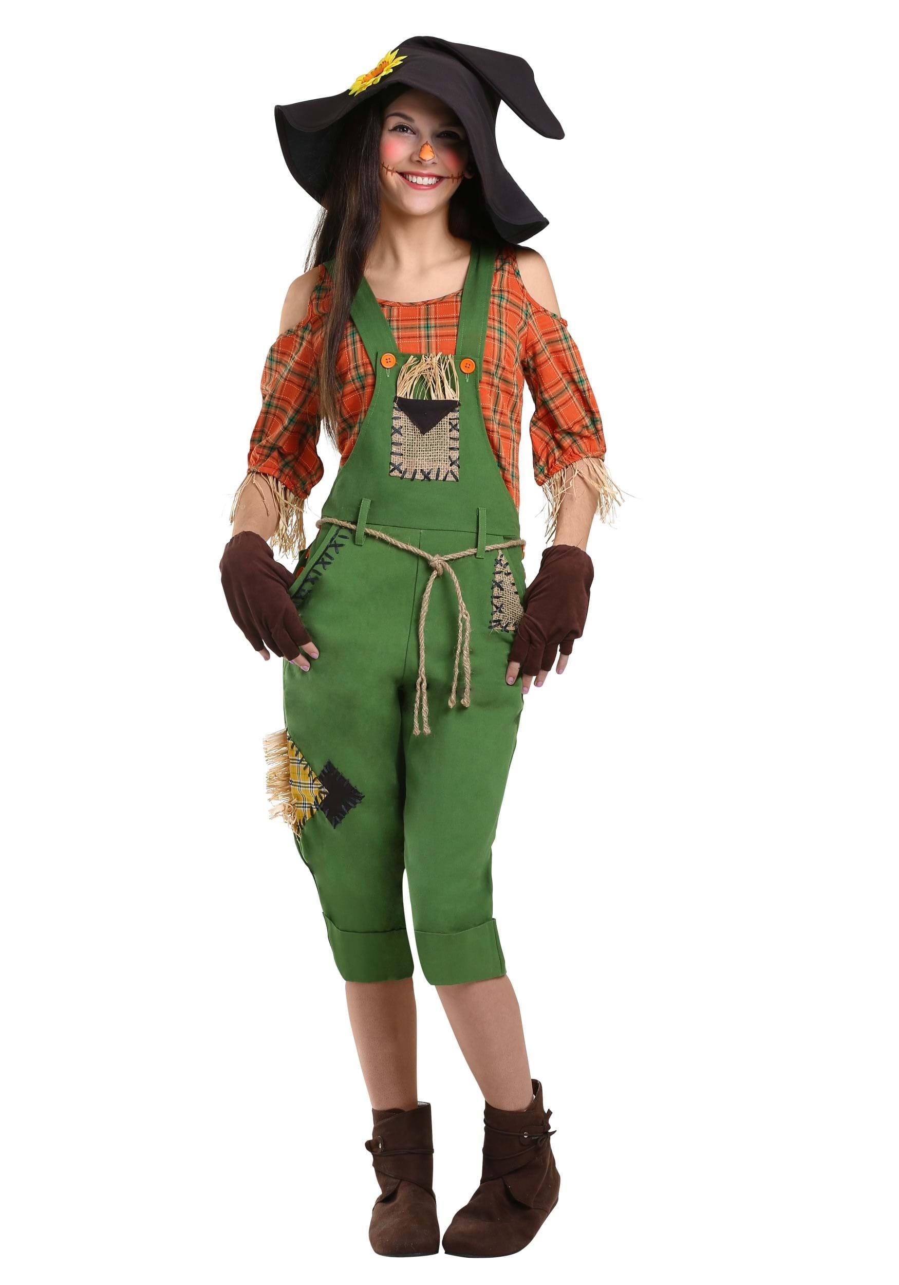 Disfraz para mujer de espantapájaros