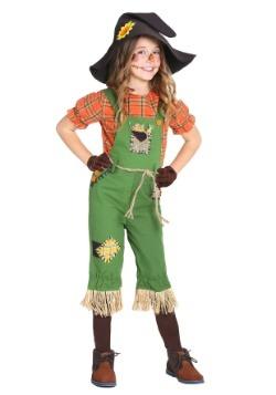 Disfraz de espantapájaros para niña