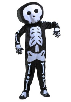 Disfraz de esqueleto de felpa