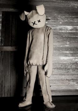 Disfraz de conejo sin vida para adulto