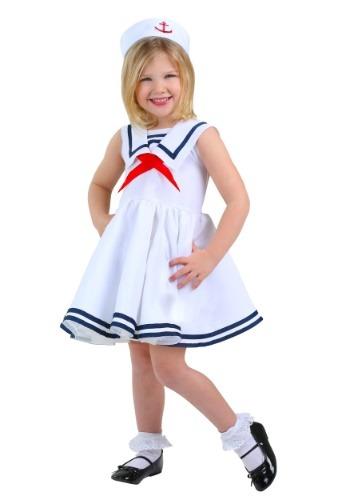 Disfraz de marinera para niñas pequeñas