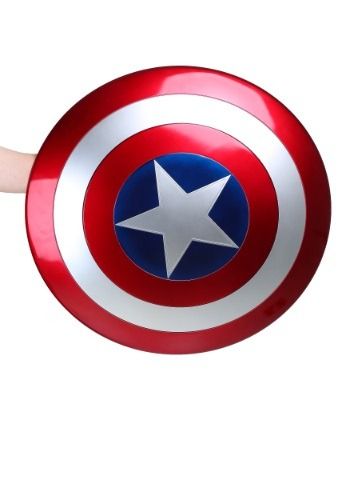 Réplica de escudo del Capitán América de Marvel Legends