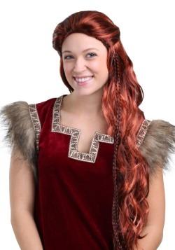 Peluca Vikinga Roja