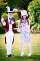 Disfraz de Sombrerero Loco bonito para mujer