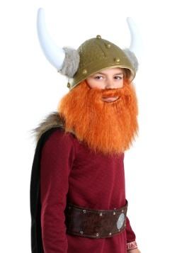 Niño Vikingo Barba Roja