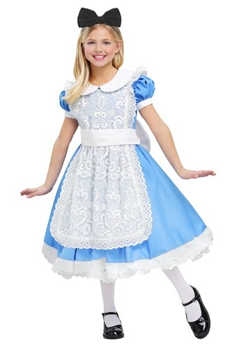 Disfraz de Alice Elite para niña