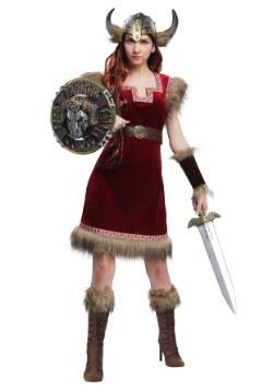 Disfraz de mujer vikinga bárbara