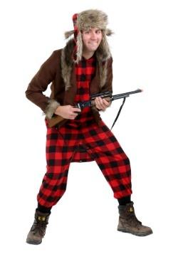 Disfraz de cazador de Wabbit para hombre