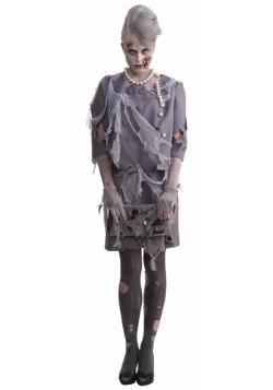 Disfraz de mujer zombi