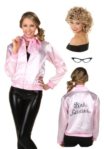 Paquete de chaqueta rosa para mujer
