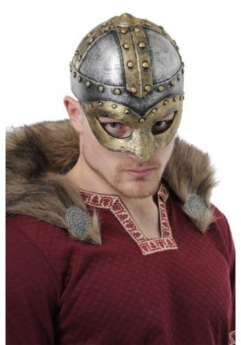 Casco de vikingo de batalla para adulto