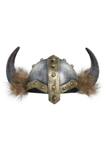 Casco de vikingo con cuernos para mujer