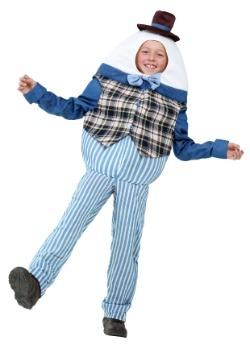 Disfraz clásico de Humpty Dumpty para niños