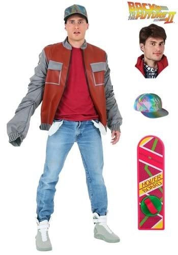 Paquete de chaqueta de Marty McFly de Volver al futuro