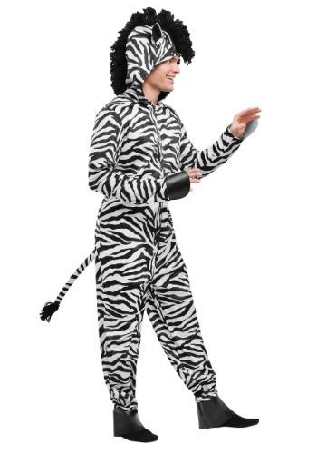 Disfraz de cebra salvaje para hombre