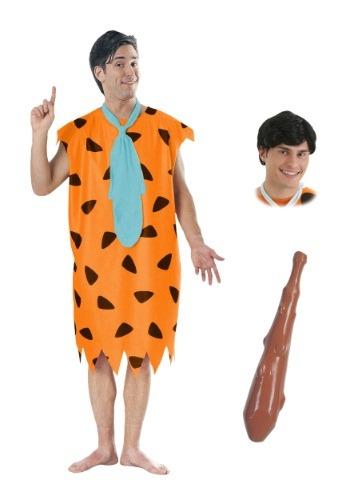 Paquete de disfraz de Fred Flintstone para hombre