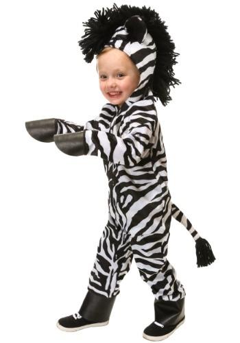Disfraz de cebra salvaje para niños pequeños