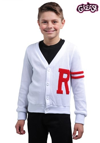 Suéter Rydell High Letterman de Vaselina para niños
