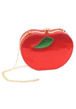 Cartera de manzana con diamantes de imitación