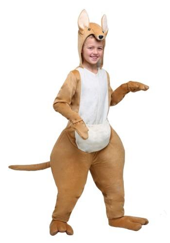Disfraz de canguro para niños
