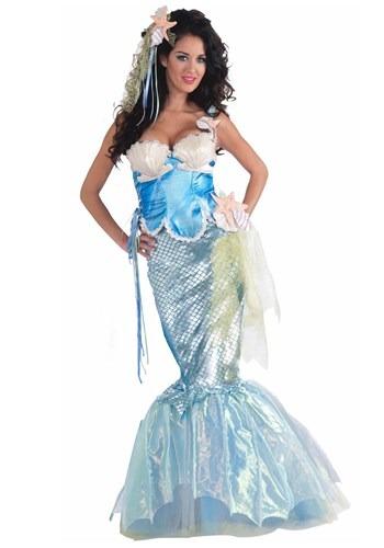 Disfraz de sirena con conchas