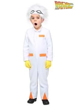 Disfraz de Doc Brown de Volver al futuro para niños pequeños