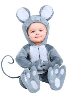 Disfraz de bebé de ratón para bebé