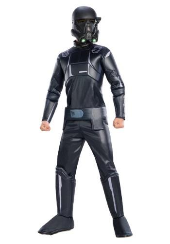 Star Wars: Disfraz de Shadow Trooper Rogue one Deluxe niño