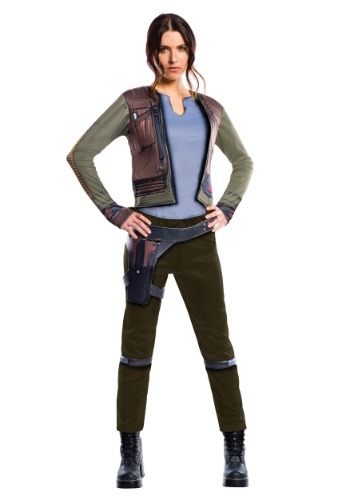 Star Wars: Rogue One traje de mujer de lujo Jyn Erso adulto