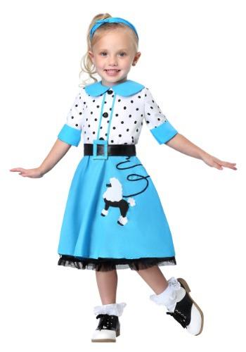 Disfraz de lindura Sock Hop para niños pequeños