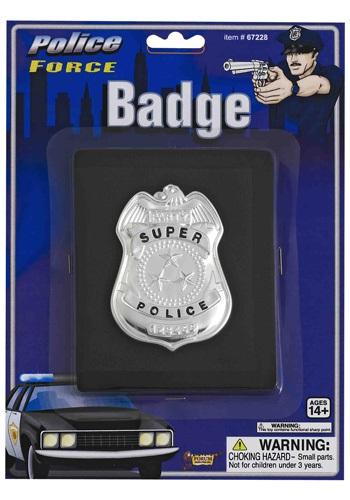 Insignia policial en la cartera