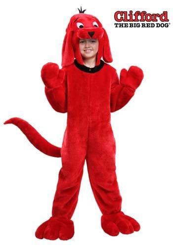 Disfraz infantil de Clifford the Big Red Dog