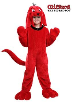 Disfraz infantil de Clifford the Big Red Dog