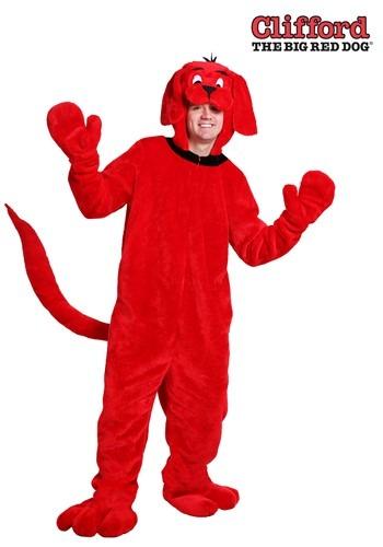 Disfraz de Clifford el gran perro rojo adulto talla extra