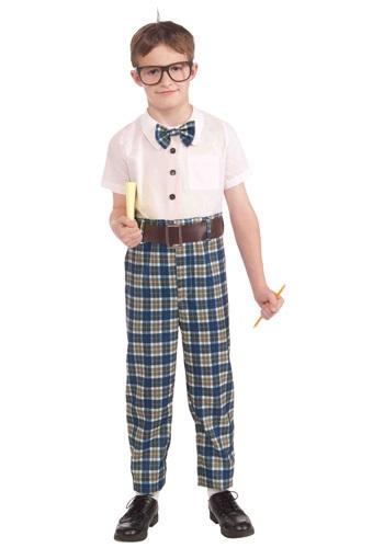 Disfraz de nerd de la clase Infantil