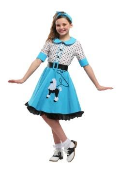 Disfraz de lindura Sock Hop para niña