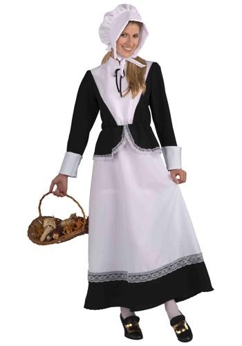Disfraz de mujer peregrina para adulto