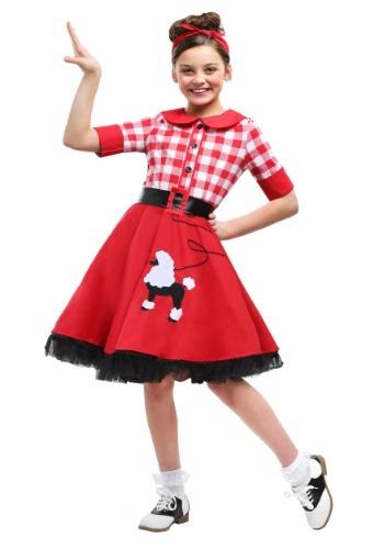 Disfraz de Darling Girls de los años 50