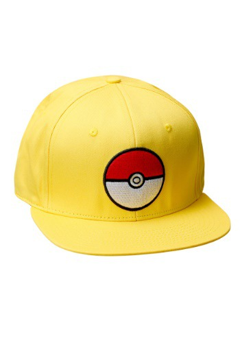Gorra de entrenador Pokeball Amarillo
