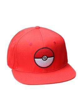 Gorra de entrenador Pokeball Rojo