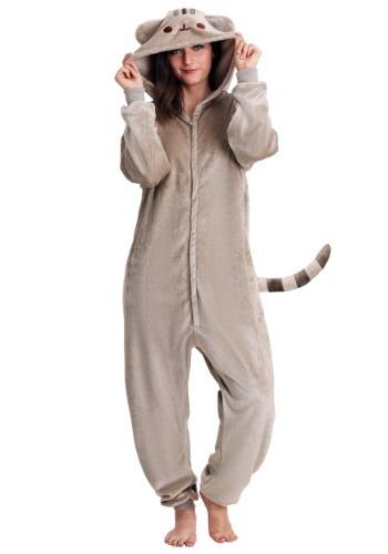 Disfraz de Pusheen Cat Kigurumi para adulto