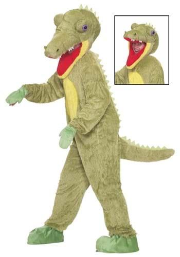 Disfraz de mascota cocodrilo