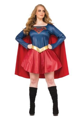 Disfraz de Supergirl TV para mujer talla grande