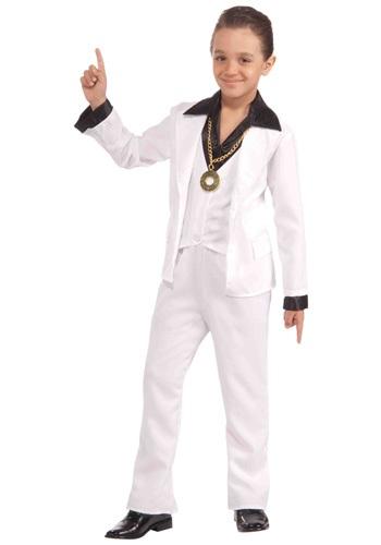Disfraz fiebre de Disco de los 70 infantil