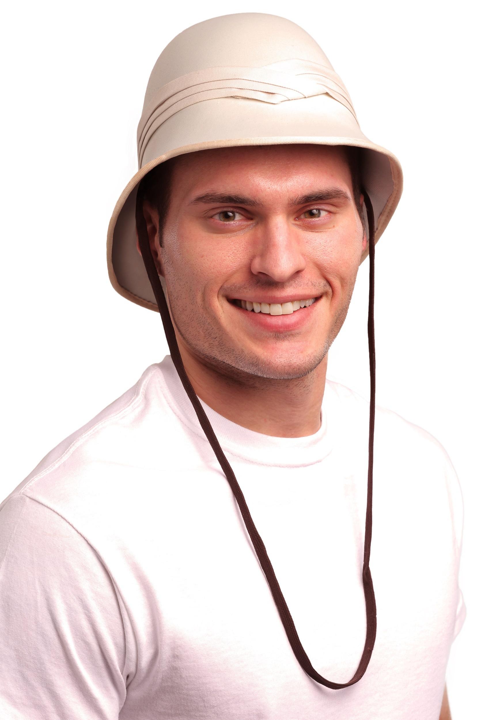 brillo encantador 2019 original bajo costo Sombrero de Safari para adulto