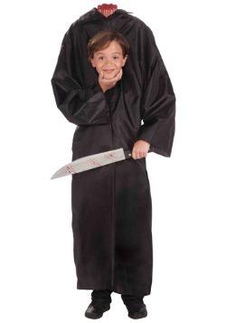 Disfraz infantil de niño sin cabeza